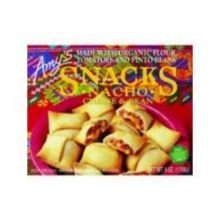 Amys Snacks, Nacho Cheese & Bean, 6 oz (12)