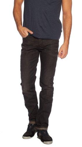 BOSS Orange Herren Jeans Orange 90 crafted 50260976 Regular Fit aus der Handcrafted Linie Black (34)