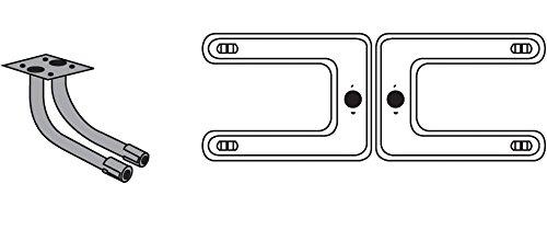 Music City Metals 18202-78202 Edelstahl-Brennereinheit für Gasgrills der Marken Broil King und Sterling - Silberfarben