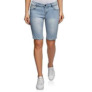 oodji Ultra Donna Shorts Lunghi in Jeans 10 spesavip