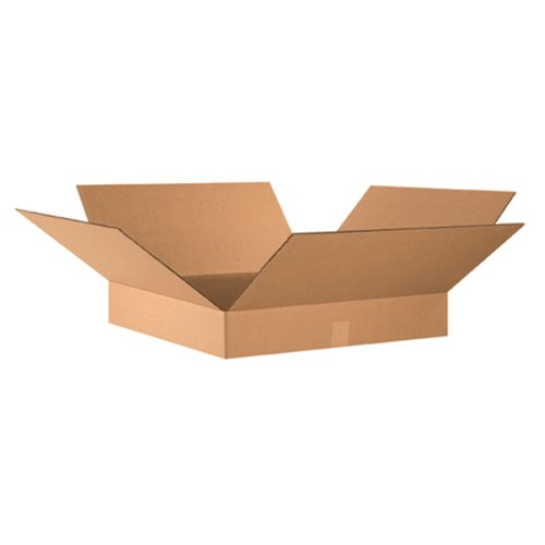 Flat Corrugated Boxes (Aviditi 24244 Flat Corrugated Box, 24