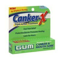 Chancre GUM-X Chancre & Mouth Sore traitement -0,28, once