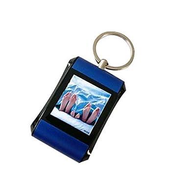 Mini 1,5 pulgadas marco digital de fotos con llavero: Amazon.es: Electrónica