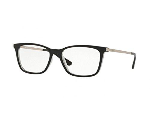 Para Black Mujer Grey Vogue transparente Top Gafas De Montura wIfI7tqPv