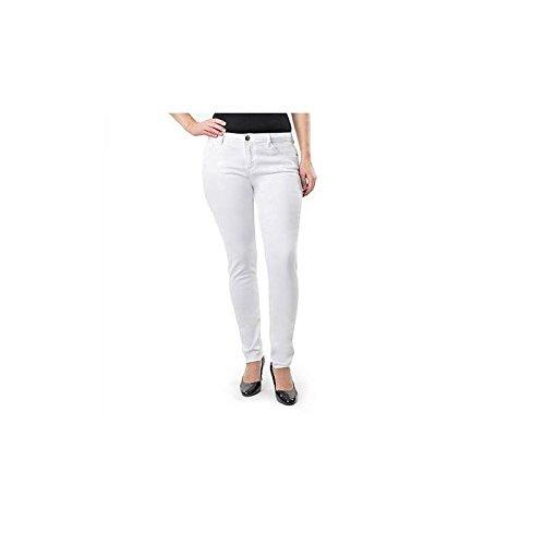Jordache Women's Super Skinny Jeans, 24W, White