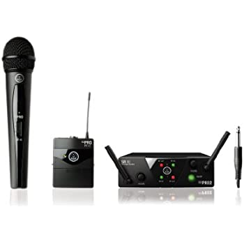 akg wms40 mini dual vocal handheld instrument wireless microphone system musical. Black Bedroom Furniture Sets. Home Design Ideas