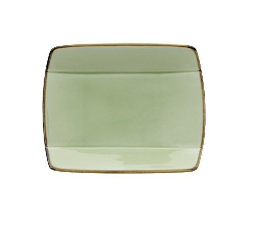 Oneida Foodservice F1463067115S Studio Pottery Celadon, Set of 36, Sushi (Oneida Green Plate)