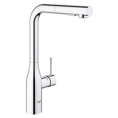 Grohe kitchen chrome faucet chrome kitchen grohe faucet chrome grohe kitchen faucet - Grohe kitchen faucets amazon ...