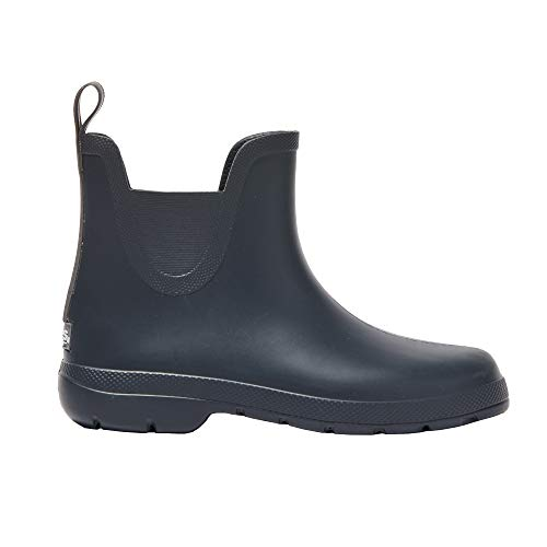 (totes Women's Cirrus Chelsea Ankle Rain Boots)