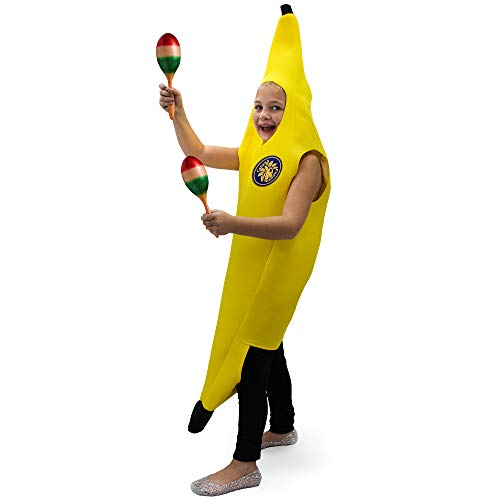 Corn On The Cob Costumes Baby - Hauntlook Cabana Banana Children's Costume -