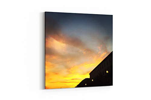 Outdoor Cloud Cloudy and Clear in Covington United States - Canvas Wall Art Gallery Wrapped 37