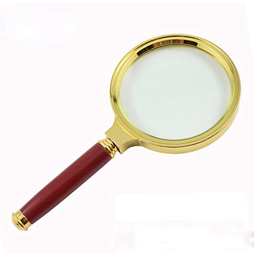 - Clearance Sale!UMFun90mm Handheld 6X Magnifier Magnifying Glass Loupe Reading Jewelry Aid Big Large