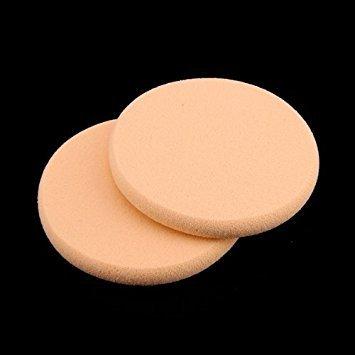 Review TOOGOO(R)2 x Powder Puff Makeup Sponge Face Sponge Cosmetic Round