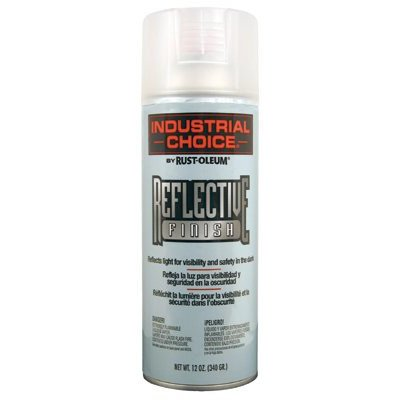 Industrial Choice R1600 System Reflective Aerosol Paint [Set of 6]