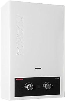 Calentador de agua a gas 10 litros Forcali BUTANO/PROPANO