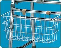 Snap-On Walker Basket, Comes W/Tray & Cup Insert