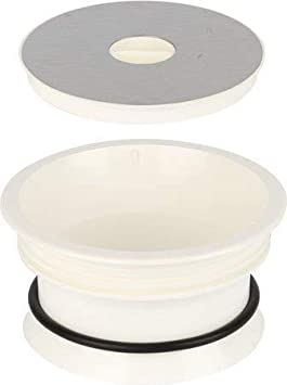 Montaje en perno y tuerca para encimera de baño espacio para bolsa de basura
