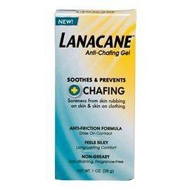 Lanacane Anti frottements apaise gel et empêche les frottements et la douleur de la peau - 1 oz