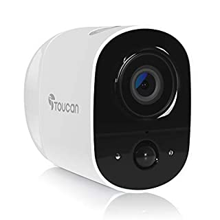 Outdoor Security Camera Wireless, Battery Operated Surveillance Camera, Night Vision, Motion Detection, Waterproof, See and Talk, Magnetic Mount, Cloud Edge Security Indoor Camera