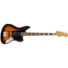 Squier by Fender Classic Vibe Jaguar Bass – Laurel Fingerboard – 3-Color Sunburst