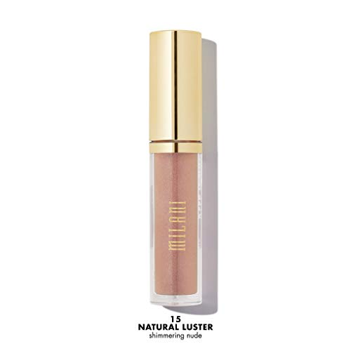 Milani Keep It Full Nourishing Lip Plumper - Natural Luster (0.13 Fl. Oz.) Cruelty-Free Lip Gloss for Soft, Fuller-Looking Lips