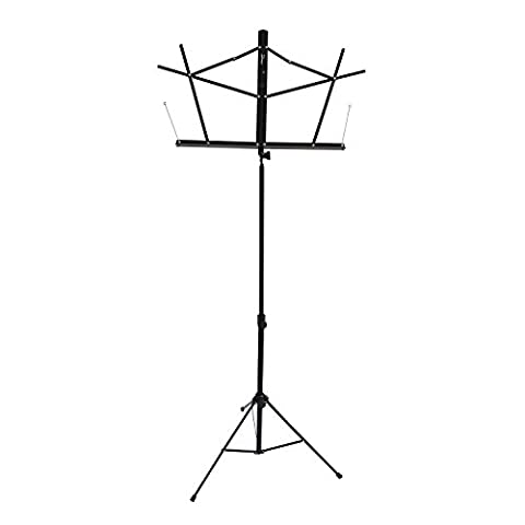 Flanger FL-09 Lightweight Foldable Music stand with Carry Bag, 1 Pack (Musical Instruments & Accessories)