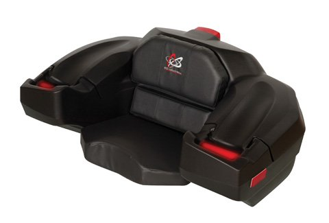 Wes Deluxe Storage Box And Seat Black - Classic Deluxe Atv