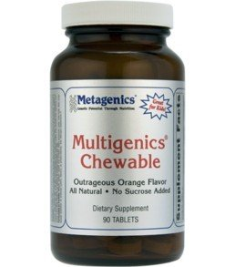 Metagenics Multigenics Chewable Orange -- 90 Chewable Tablets