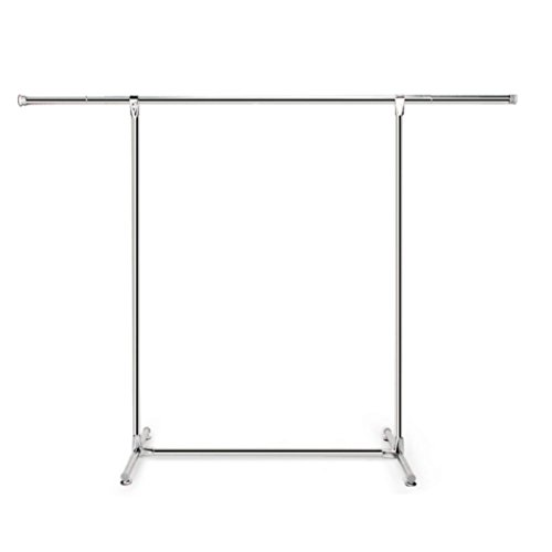 LyMei Drying Rack stainless steel single rod telescopic mobi