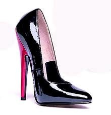 Style 8260, Women's 6 Inch High Heel Fetish Pump Shoes