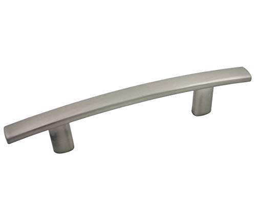 25 Pack - Cosmas 2363-3SN Satin Nickel Subtle Arch Cabinet Hardware Handle Pull - 3