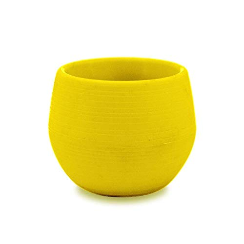 Round Planter-Mini Colorful Round Plastic Plant Flower Pot Home Office Decoration Garden Home Office Decor Planter Desktop Flower Pots (Baskets Australia Buy Wicker)