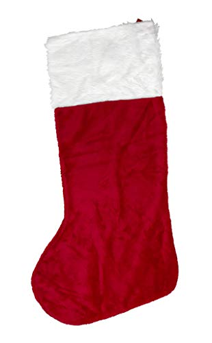 - Iconikal 43 Inch Jumbo Plush Christmas Stocking
