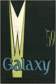 Custom Reprint Yearbook 1959 North High School Galaxy Yearbook