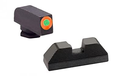 AmeriGlo Hackathorn Sight Set for Glock 42/43, Green/Orange from RSR Group, Inc
