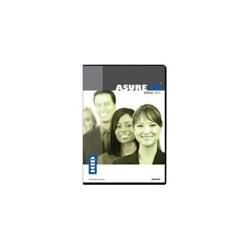 Asure Id Solo 2009 Entry Level Card Personalization Software Also