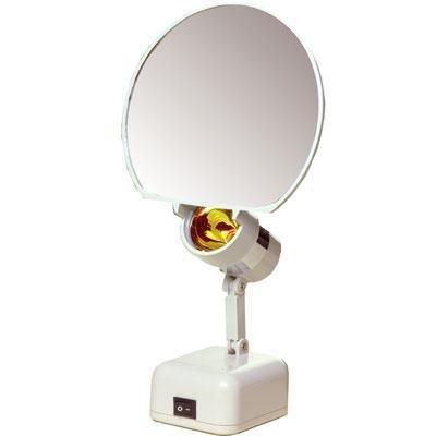 Floxite 7'' Magnifying 8x Lamp Set Mirror