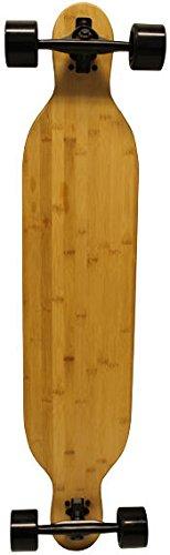 垂直ラミネートCore BambooドロップThru LongboardファイバーエポキシComposite B06XJ822BW