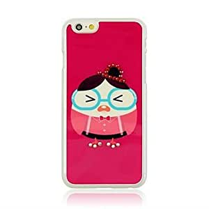 YULIN Humpty Dumpty Pattern Hard Case with Rhinestone for iPhone 6 Plus