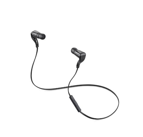 Plantronics BackBeat GO Bluetooth Wireless Stereo Headset - Frustration Free Packaging - Black