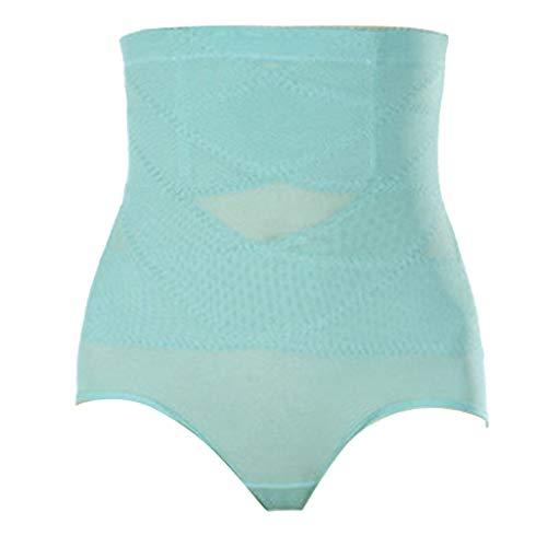 WYTong High Waist Abdomen Body Shaping Corsets Breathable Bregging Pants Corset Female Body Shaping Pants(Mint Green,XXXXL)