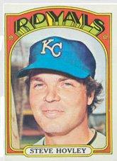 - 1972 Topps Regular (Baseball) card#683 Steve Hovley of the Kansas City Royals Grade Very Good