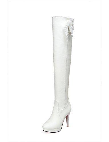 Schuhe Stiefel Damen Zulaufender Damen Kleid Stiletto Spitz Beute Citior Stiefel Heel Beute Outdoor Fashion Zehenbereich BIZqxTwFC
