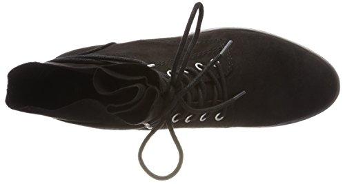 Marco Combat Black Nero 25100 Stivali Tozzi Donna rTHw4qRrf