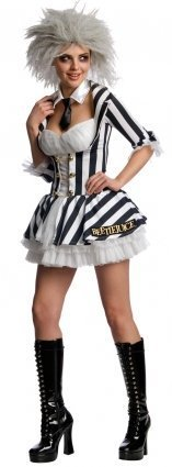 (Miss Beetlejuice Small Fancy Dress Costume by)