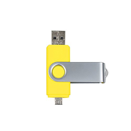 Ayake 64GB USB Memory Stick Flash Drive USB 2.0 Micro USB Fo