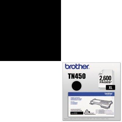 KITBRTTN450MAS00201 - Value Kit - Master Caster Grommet (MAS00201) and Brother TN450 TN-450 High-Yield Toner (BRTTN450) ()