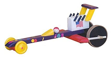 Amazoncom Dragster Wood Craft Kit Toys Games