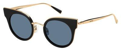 max-mara-ilde-i-s-026s-black-gold-copper-9a-blue-lens-sunglasses