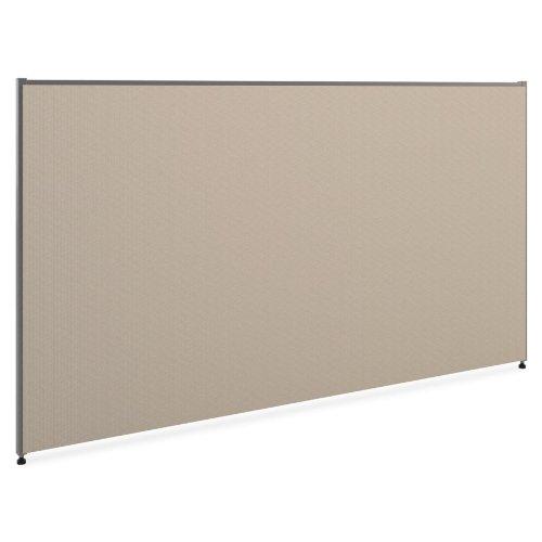 basyx P4272GYGY Versé Office Panel, 72w x 42h, Gray